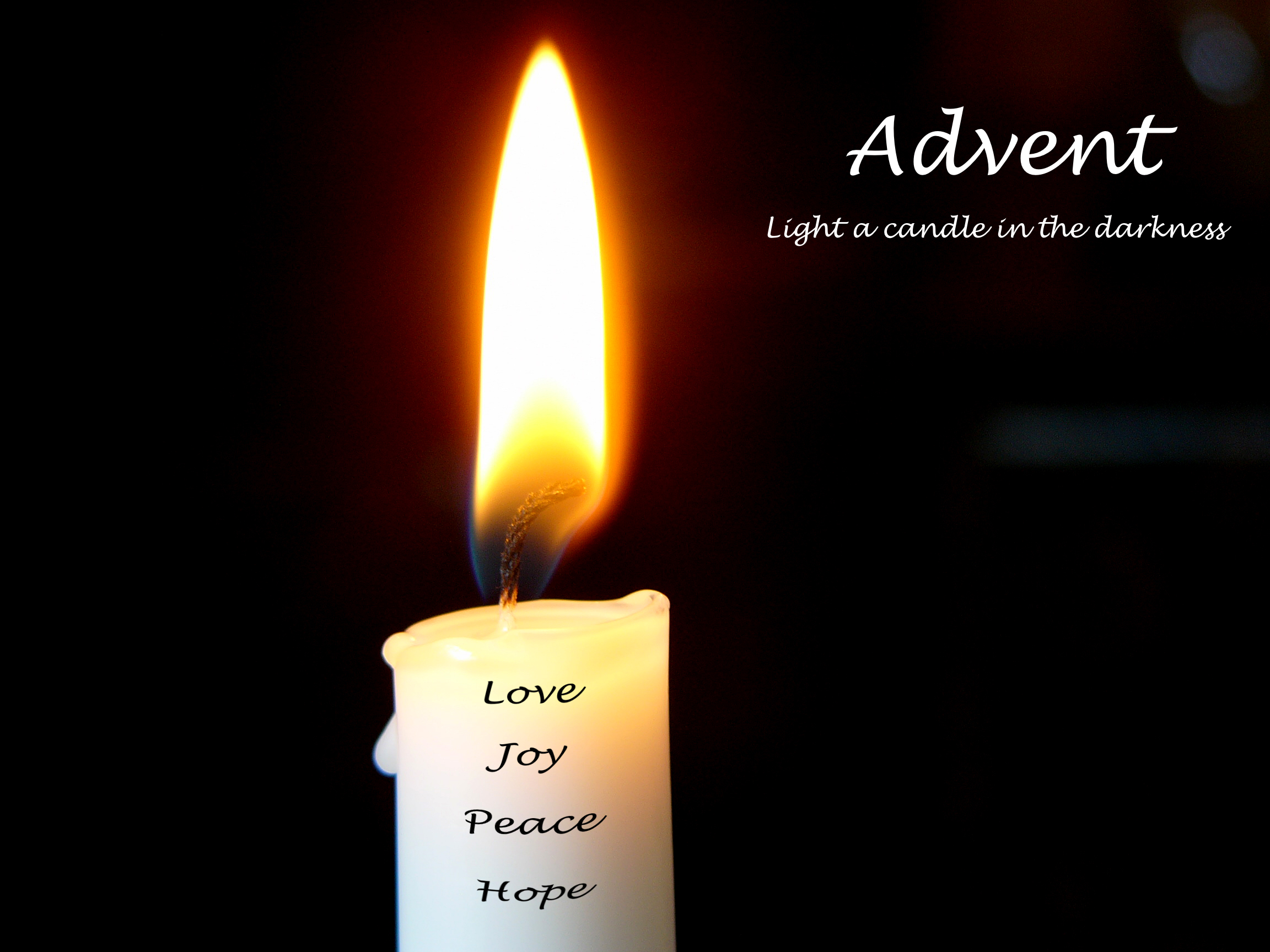 Light A Candle In The Darkness Revster39s Ramblings & Lighting Of The Advent Candles - Democraciaejustica