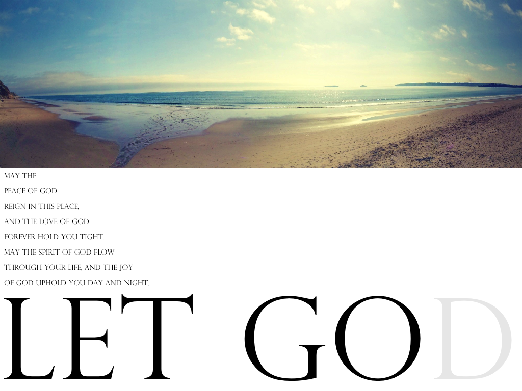how to really let go and let god