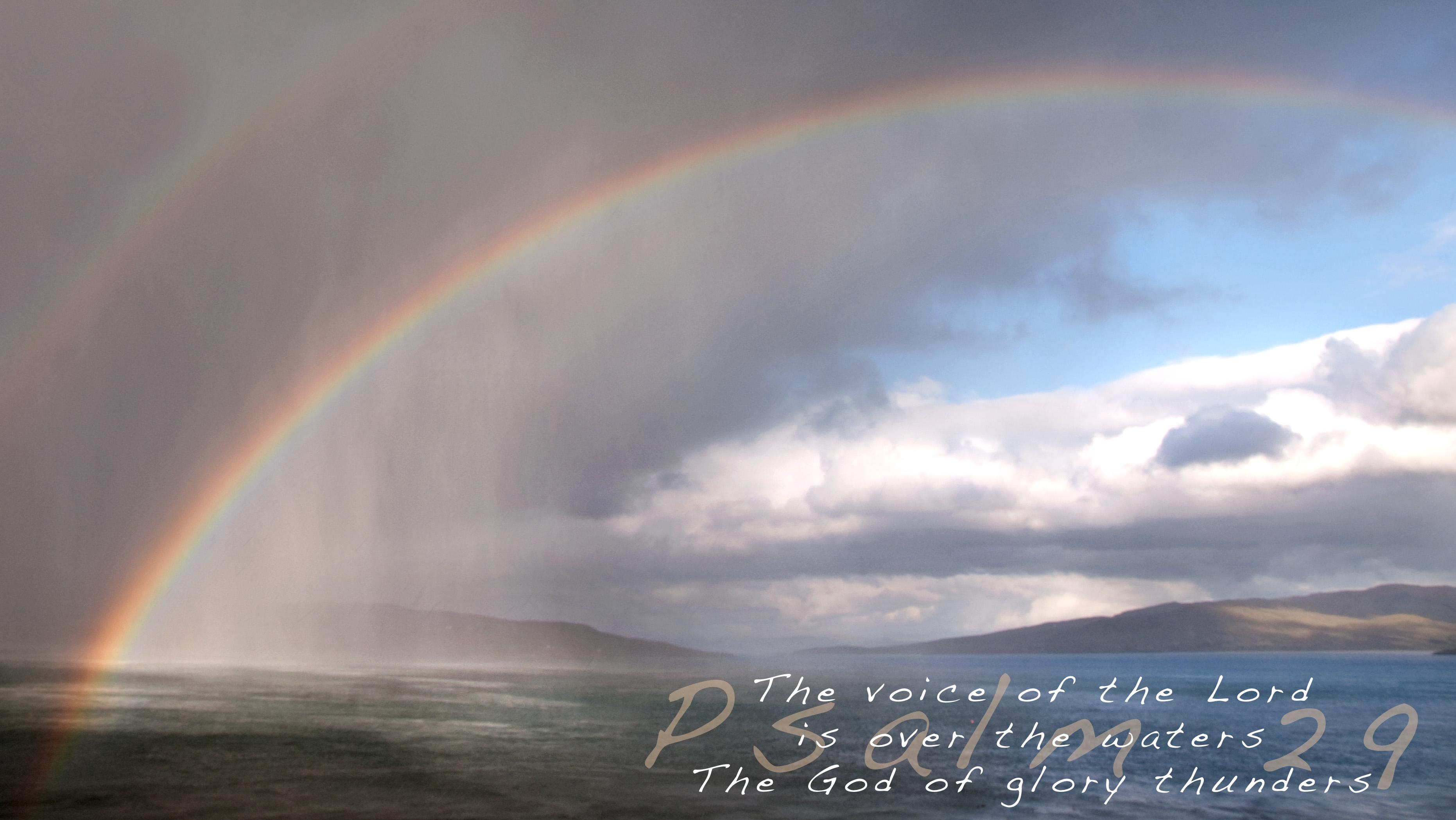 Psalm 29 The God Of Glory Thunders Revster S Ramblings